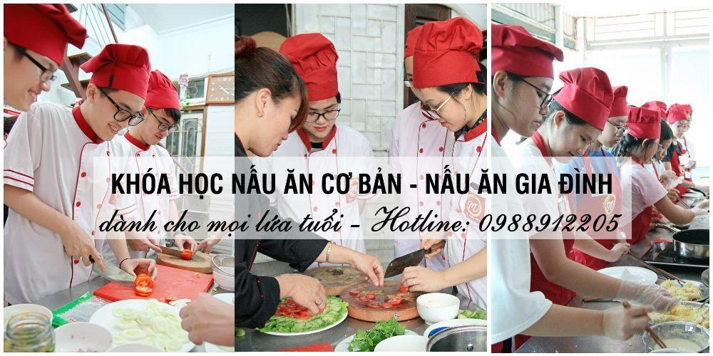 Lớp dạy nấu ăn cơ bản