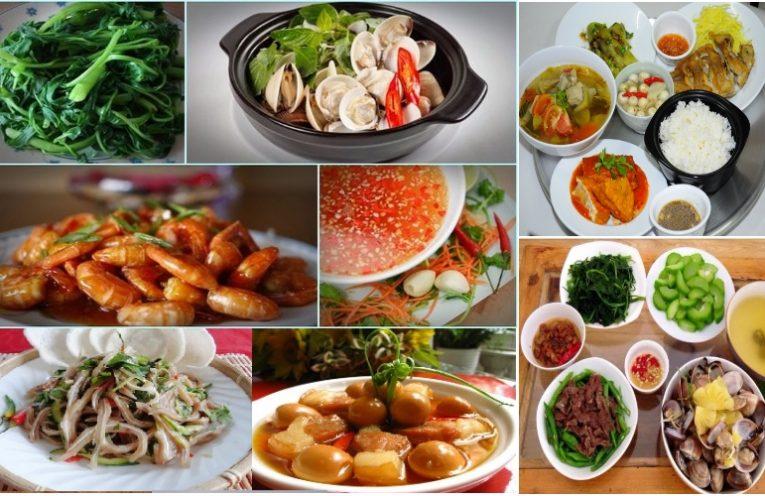 lớp dạy nấu ăn gia đình