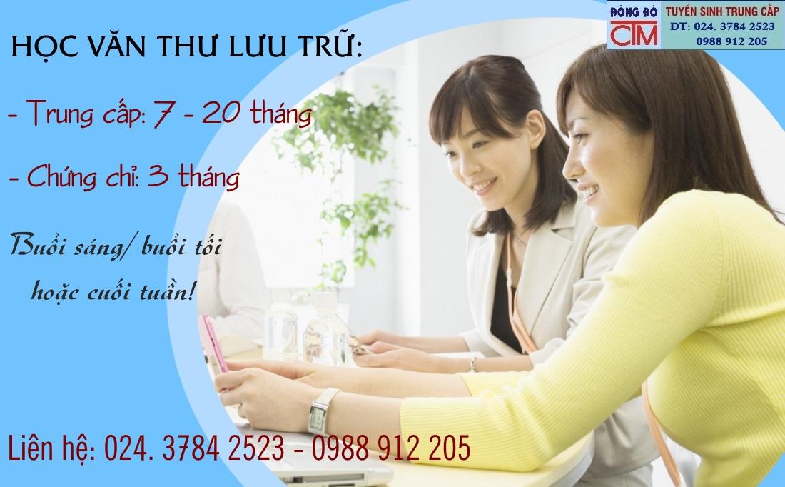 Học văn thư lưu trữ tại Hà Nội