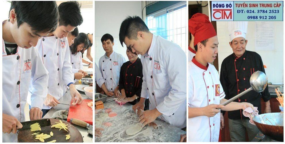 học nấu ăn không lo thất nghiệp