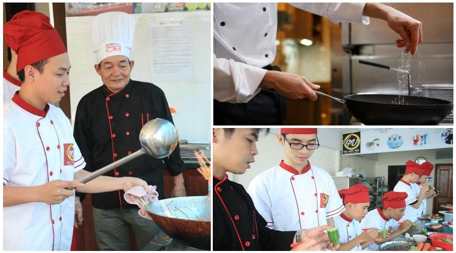 khóa học nấu ăn chất lượng cao