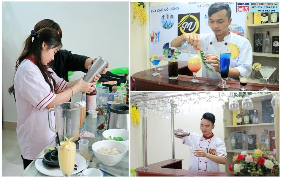 Lớp học pha chế đồ uống
