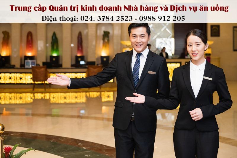 học ngành quản lí nhà hàng tại Hà Nội