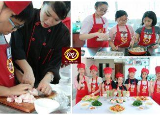 Khóa học nấu ăn dành cho trẻ em trong dịp hè