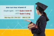 đào tạo thạc sĩ kinh tế
