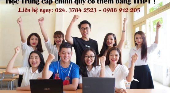 học trung cấp có thêm bằng THPT