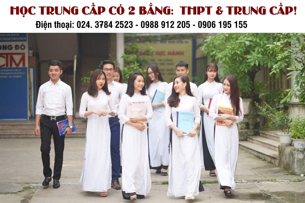Học trung cấp có 2 bằng THPT & Trung cấp
