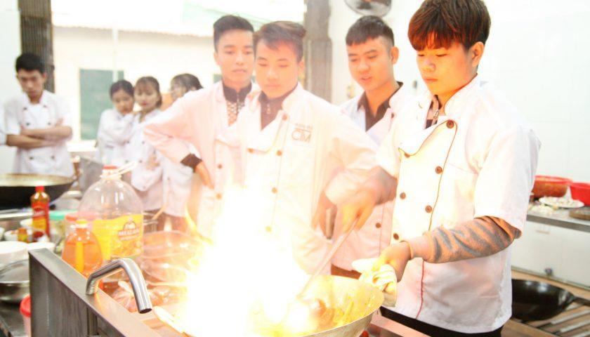 Trường Trung cấp nấu ăn Hà Nội  - địa chỉ dạy nghề đầu bếp uy tín