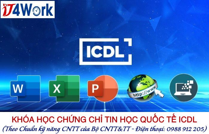 khoa hoc chuan ky nang cntt icdl tai it4work