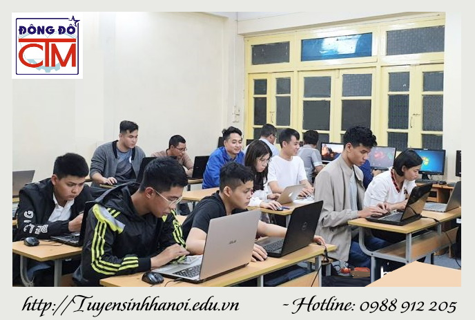 Lớp trung cấp tin học buổi tối tại Hà Nội
