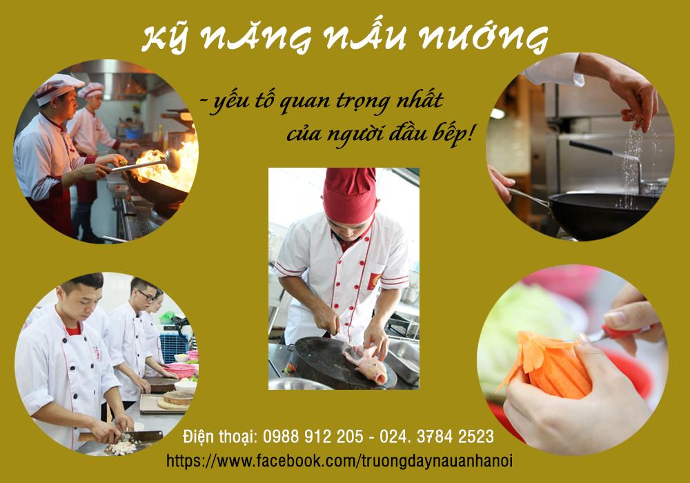Kỹ năng nấu nướng là quan trọng nhất với người đầu bếp!